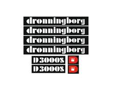 Sticker, aufkleber, decal - Dronningborg D 3000S