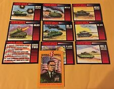 1991 Crown Landforce 8 Card series 2 Set + Colin Powell Card Nr/Mt