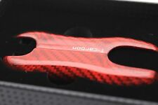 Red Real Carbon Fiber Luxury Key Case for Porsche Cayenne Panamera 2017 2018