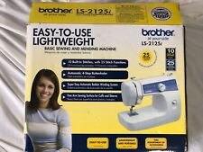IOB Everything There Brother LS-2125i 10 Stitch Mechanical Home Sewing Machine.