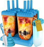 HelpCuisine® EIS am Stiel Bereiter,  6 Stück mit Reinigungsbürste, Falttrichter