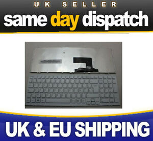 NEW Sony Vaio Vpc-eh Vpceh Pcg 71911m Keyboard White - next day delivery UK kyb