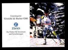 Fritz Fischer Autogrammkarte Original Signiert Biathlon + A 168093
