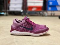 Nike Free RN Flyknit 2018 WMNS Running Shoes Raspberry Red 942839-600 NEW Multi