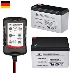 AGM Bleiakku 6V 12V 4Ah 5Ah 7,2Ah 9Ah 12Ah 18Ah 20Ah AGM Batterie Akku Sunstone