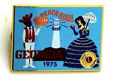 Pin Spilla Lions International Georgia 1975 Peach Bowl cm 3,7 x 2,7
