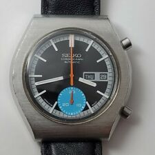 Seiko 6139-8020 Chronograph Watch *1975* Men 6139B Working