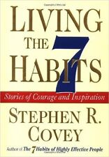 NEW Living The 7 Habits Stephen Covey Inspiration HBDJ ++++