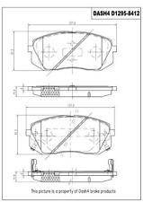 Disc Brake Pad Set-Metallic Pads Front Pronto PMD1295