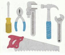 ~ Metal Tools Saw Hammer Wrench Screwdriver Grossman Sticker SALE PRICE ~