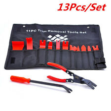 13Pcs Nylon Auto Trim Removal Set with Clip Pliers and Fastener Removers