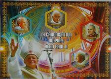 Canonization of Pope John Paul II (Religion) m/s Mali 2014 MNH #VG1075