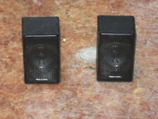 """Pair Of 8 ohm Realistic 3"""" Full Range Speaker Systems In good working Condition!"""