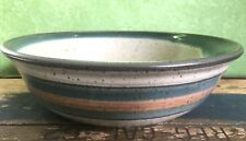 Handcrafted Stoneware Studio Pottery BOWL Serving 9 3/4