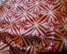 """Williams Sonoma Christmas silk pillow cover red white 22"""" New"""