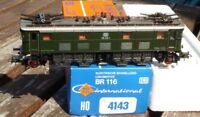ROCO 4143 Locomotive électrique ancien modèle BR 116 019-1 de DB ep.4 neuwertig,