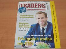 TRADERS` Erfolgreiches Trading mit ETFs Ausgabe 7/2017 NEUWERTIG!
