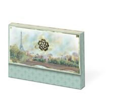 PUNCH STUDIO Scenes of Paris Brooch Portfolio 10 Note Cards & Envelopes New