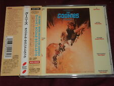 GOONIES SOUNDTRACK 1985 CD JAPAN F7098