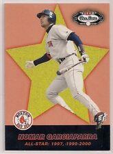 2002 Fleer Box Score NOMAR GARCIAPARRA /2950 Card Boston Red Sox #249
