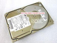 1pc HP D7174A DNES-318350 25L2102 ULTRA2 hard disk 80pin scsi 18GB 7.2K 2MB #XH