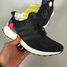 "Adidas Ultraboost Ultra Boost 3.0 LGBT ""Pride"" Core Black US 10 Shoes (CP9632)"