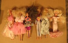 Vintage 6 Mattel Barbie & Friends Dolls