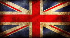 "UK British Flag Union Jack Patriotic -  42"" x 24"" LARGE WALL POSTER PRINT NEW"
