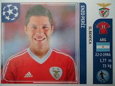 Panini 168 Enzo Perez SL Benfica UEFA CL 2011/12