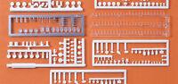Preiser 17220 Table-ware, food. Kit HO 1:87 amazing detail