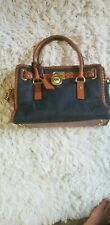 Michael kors Hamilton Denim Bag Purse Padlock,chain Handel