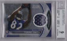 TORREY SMITH 2011 Bowman Sterling Jersey RC BGS 9 Mint Pop 1