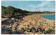 Dorset; Avon Beach, Mudeford PPC, 1970 PMK, Motoring & Social History Interest