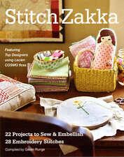 Stitch Zakka 10939 - Softcover Book FREE US SHIP