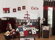 Cheap Designer Jojo Design Horse Western Themed Cowboy Baby Boy Crib Bedding Set