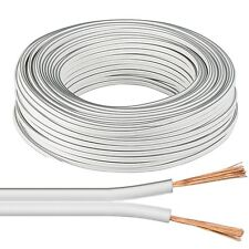 5m flry vehículo tubería Weiss 0,5mm² cable redondo vehículos galon cable de alimentación