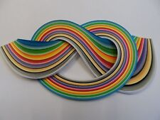 Quilling Paper 3mm  -  Assorted colours - 175 strips, 450mm long