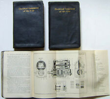 Electrical Equipment of the Car 3 Volume Set published 1926 by Howell & Co