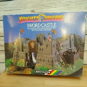 Britains Silver Knights of the Sword CASTLE Vintage 7791 Accessories