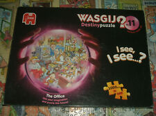 """WASGIJ Destiny No. 11  """"The Office""""  Jigsaw Puzzle 1000 pieces COMPLETE Used"""