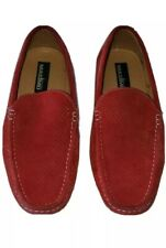 Men's Masimo New York Red Suede Slip-On Loafer 9 M