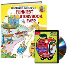 Richard Scarry's Funniest Storybook Ever + Busy World of Richard Scarry DVD NEW
