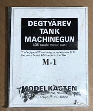 MODELKASTEN M-1 - DEGTYAREV TANK MACHINE GUN - 1/35 WHITE METAL