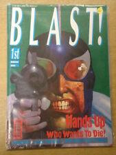 BLAST! #1 1991 JUNE FN JOHN BROWN US MAGAZINE KEVIN COSTNER