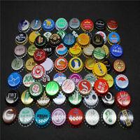 100Pcs Beer Cocktail Drink Bottle Caps KRONKORKEN CROWN CAPS - China .Korea.Laos