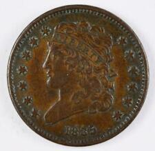 1835 P Half Cent US Mint Coins