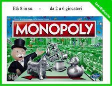 monopoly monopoli classico italiano gioco da tavolo hasbro rettangolare nuovo.