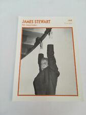 James Stewart - Fiche cinéma - Portraits de stars 13 cm x 18 cm