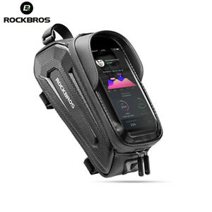 ROCKBROS Bike Bag Front Phone Bicycle Bag For Bicycle Tube Waterproof