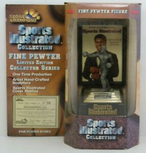 1997 Sports Illustrated Collection Muhammad Ali Unopened Fine Pewter Figure